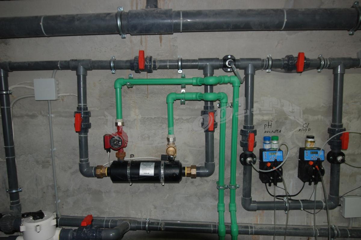 Теплообменник для бассейна установка теплообменник пластинчатый характеристика и стоимость mfg в г рязани